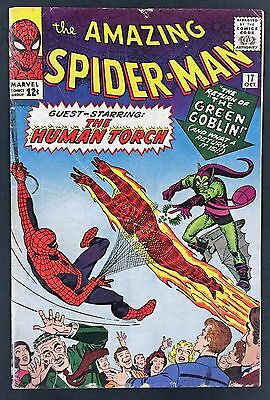 Amazing Spider-Man (1963 1st Series) 17 GD/VG 3.0 2nd Goblin Appearance!