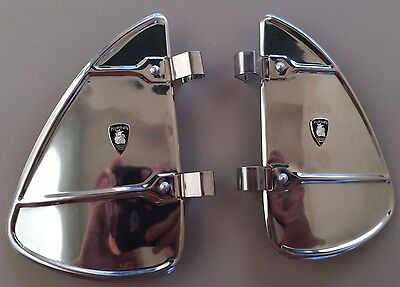 Pair of Plymouth Vintage Automobiles Window Mounting Parts