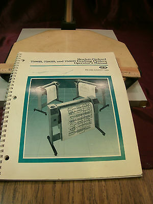 HP 7580B, 7585B & 7586B Drafting Plotter Operator's Manual - RS-232-C/CCITT V.24
