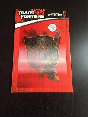 Transformers Official Movie Prequel RARE exlusive Lenticular variant IDW TPB