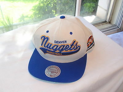 Mitchell & Ness Denver Nuggets Basketball cap adjustable fit