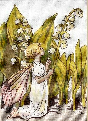 Lily Of The Valley Flower Fairy - Cross Stitch Chart - FREE POST