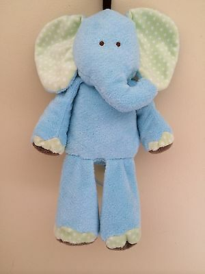 """Carters Just One Year Elephant Musical Crib Pull Toy Twinkle Twinkle 13"""""""
