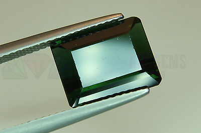 Green Tourmaline Step 4.88ct 15x9mm VS Big Loose Natural Gemstone Afghanistan