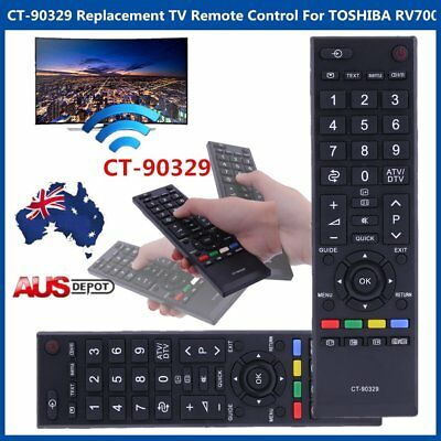 High Performance CT-90329 Replacement TV Remote Control For TOSHIBA RV700A  DK