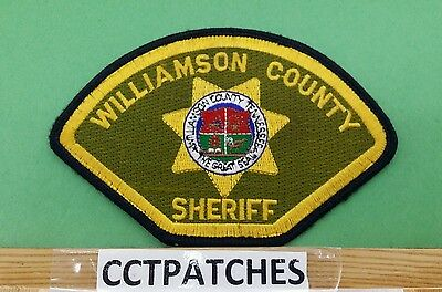 Williamson County, Tennessee Sheriff Police Shoulder Patch Tn