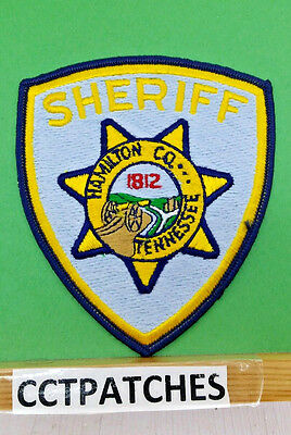 Hamilton County, Tennessee Sheriff Police Shoulder Patch Tn