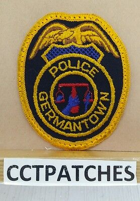 Germantown, Tennessee Police Shoulder Patch Tn