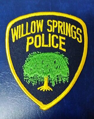 Willow Springs, Illinois Police Shoulder Patch Il