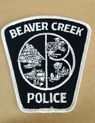 Beaver Creek, Ohio Police Shoulder Patch Oh