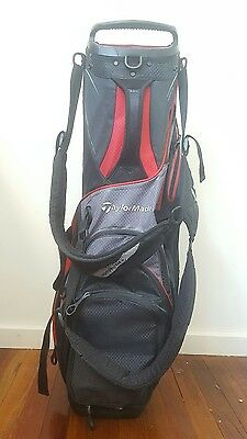 Taylormade 2015 Purelite Stand Bag Red/Black/Charcoal