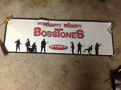 2 Sided RARE The MIGHTY MIGHTY BOSSTONES Promo POSTER 36x12apx. cd album