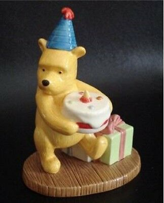 Royal Doulton Winnie The Pooh Figure 'presents And Parties' New, Boxed