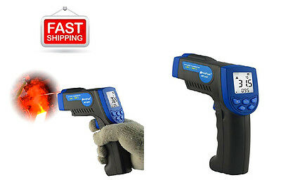 Temperature Gun Tester Thermometer Non-Contact Digital IR Laser LCD Backlit