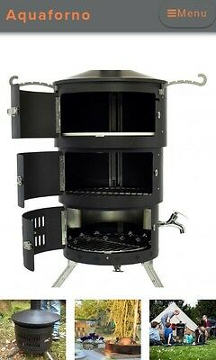 Aquaforno BBQ, Pizza Oven, Water Heater - GREAT FOR CAMPING