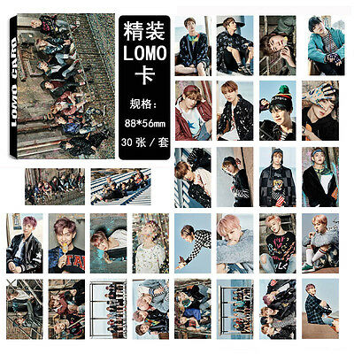 NEW 30pcs set Kpop BTS Bangtan Boys YOU NEVER WALK ALONE Photo Poster Lomo Card