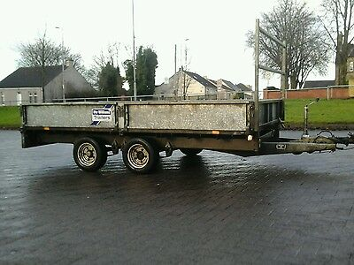 Ifor williams dropside trailer 12x6.6  no at