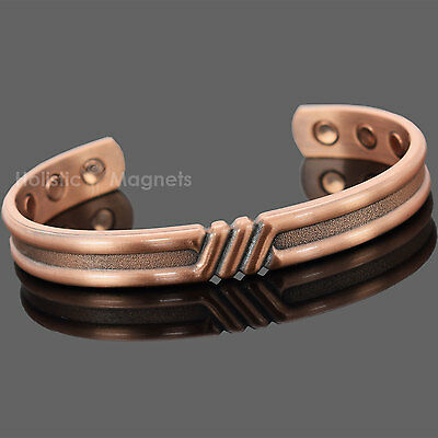 Mens Womens Copper Magnetic Bracelet for Arthritis Pain Relief and Balance-SIGT