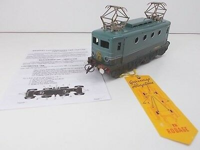 French Hornby O Gauge Electric Loco TBB