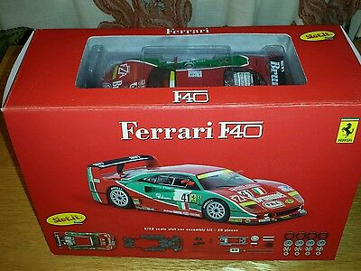Slot.it. Ferrari F40 slot  car kit..compatable with scalextric