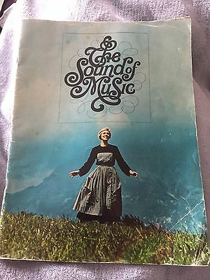 The sound Of Music Film Brochure Programme Featuring Julie Andrews