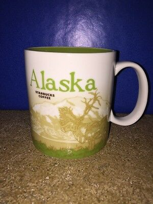 Starbucks 2009 Global Icon Collector Series Alaska Mug- 16oz