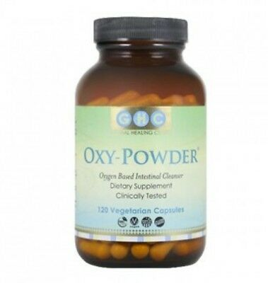 Oxy-powder by GHC oxygen intestinal cleanser 120 vegetarian capsules