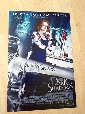 Original Autograph of Helena Bonham Carter (In Person) Harry Potter