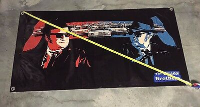 The blue Brothers banner police car model film movie poster animal Belushi toy 2