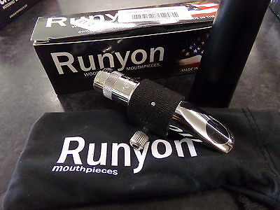 Brand New Runyon Metal Smoothbore alto saxophone Mouthpiece clearance sale