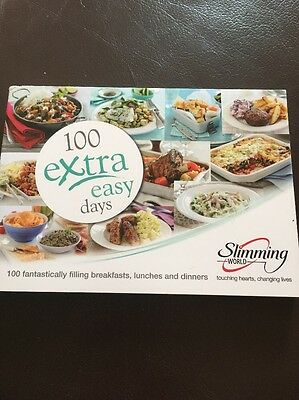 Slimming World 100 Extra Easy Days Book Brand New