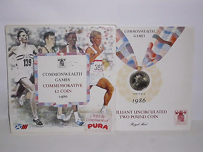 Commonwealth Games Commemorative £2 Coin 1986
