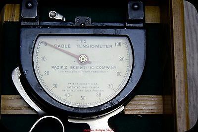Cable Tensiometer  Pacific Scientific Company Type-T-5