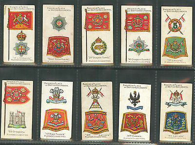 Players - Badges & Flags of British Regiments - Complete Set