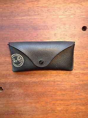 Genuine Ray Ban Leather Glasses Sunglasses Case