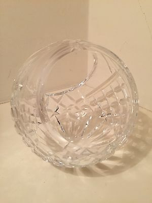 Waterford Crystal spherical bowl