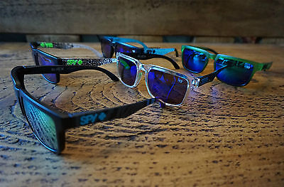 Mens Sunglasses Block Sun Sport Ken Cycle In Spy + With Pouch