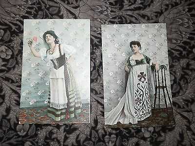 Vintage Postcards. Fashion.  National Costume.  ESD Series 1015.   (P11)