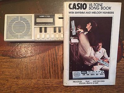 Casio VL-Tone Electronic Musical Instrument VL-1 With Song Book
