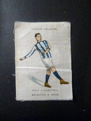 "Phillips Silk ""football Colours"" (B.d.v.) 1/86 Medium Size Brighton & Hove."