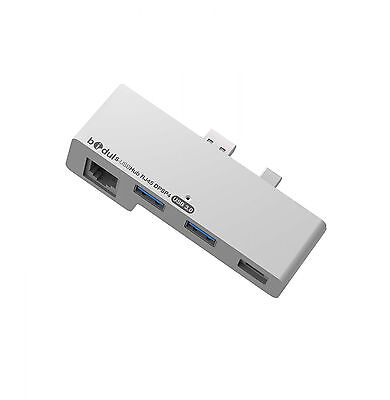 USB 3.0 Hub and Ethernet Adapter with DisplayPort for Microsoft Surface Pro 4
