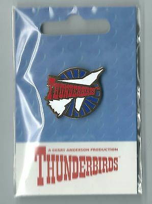 Official Gerry Anderson Thunderbirds Retro Style Pin - 5 Pins (Each Craft)
