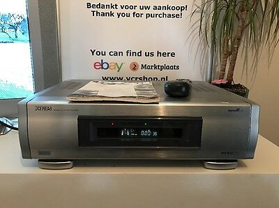 Philips VR20D Digital Video Recorder TBC/NR STD LS3 D-VHS