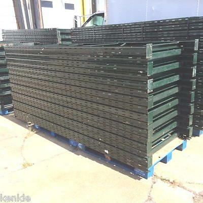 "15 sections 10' h x 44""d Rigurak RUR Pallet Racks Racking - 16 ups / 60 beams"