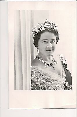 Photo Card Queen Elizabeth The Queen Mother