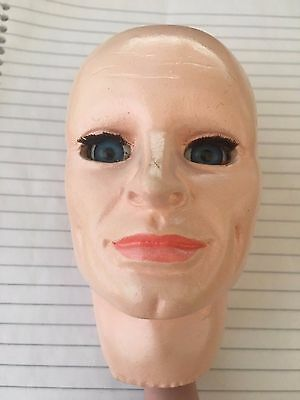 Scott Tracy Male puppet head Gerry Anderson Thunderbirds