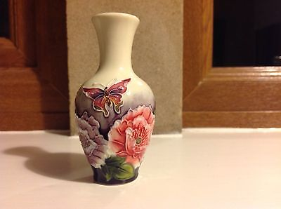 "NEW ""Old Tupton Ware"" miniature porcelain vase, gift boxed"