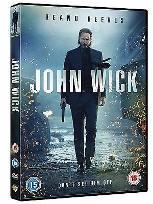 John Wick Chapter 1 DVD Keanu Reeves Original UK Release Brand New 1st Part R2