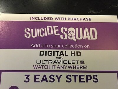Suicide Squad Digital HD Ultraviolet CANADA ONLY