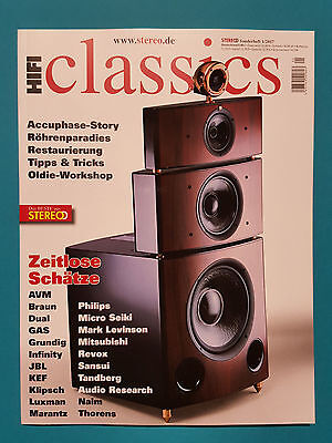 Stereo Sonderheft 1/2017 classics    ungelesen 1a absolut TOP